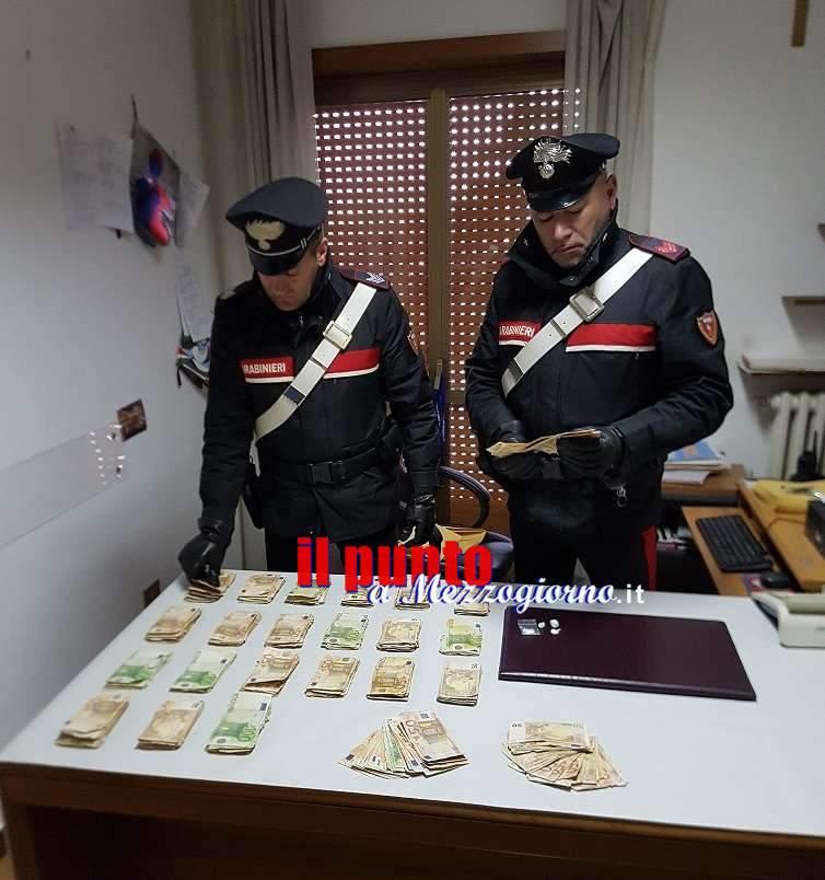 Controlli serrati dei carabinieri di Cassino durante il weekend