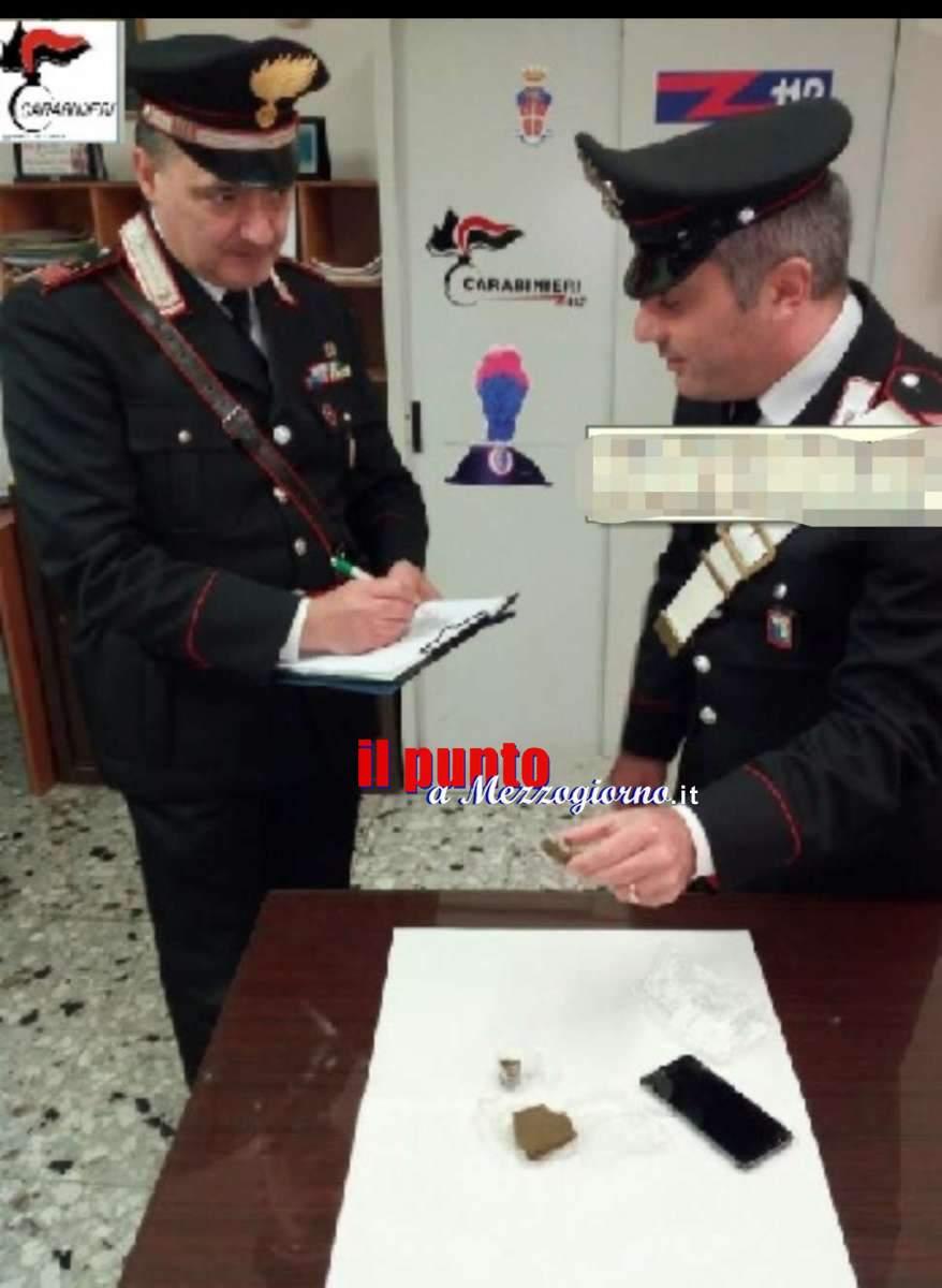 Detenzione e spaccio di droga, due giovani finiscono nei guai a Ceprano e a San Giovanni Incarico