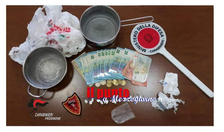 20enne sorpreso a Frosinone con 16 dosi di cocaina pronte per lo spaccio