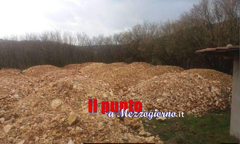 Abuso edilizio a Monte S. Giovanni Campano, sequestrato piazzale e deposito