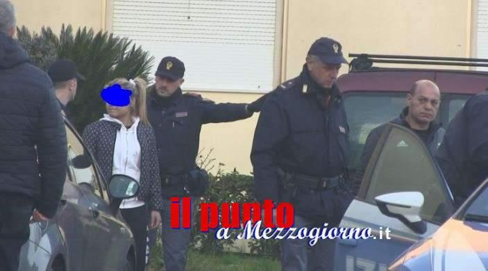 La polizia svuota un magazzino della droga a Cassino e prepara trappola, arrestati padre e figlia