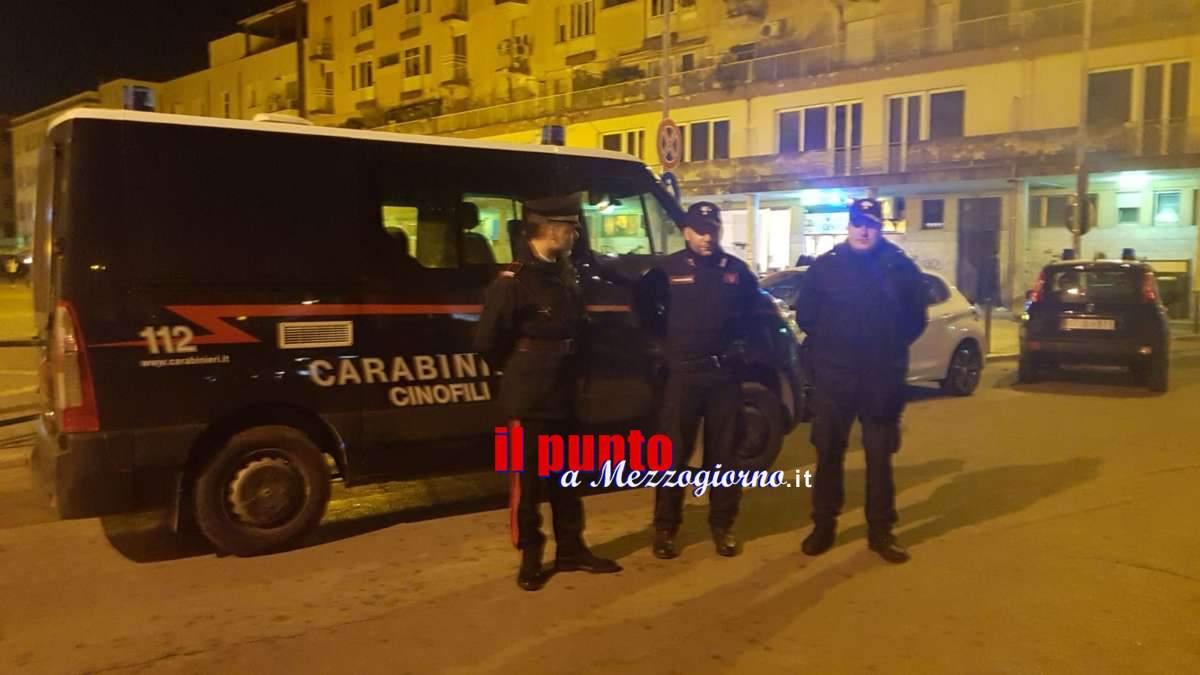 Weekend di controlli dei carabinieri in tutto il cassinate