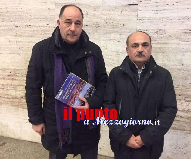 Rivolta in Iran, il sindaco di Coreno incontra segretario della Resistenza: preoccupati per quanto sta accadendo