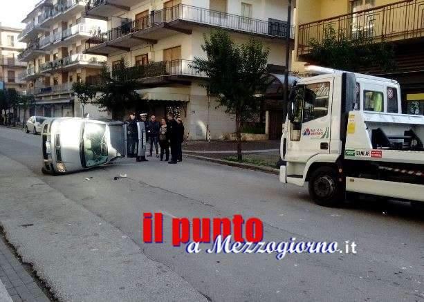 """Incidente stradale a Cassino, donna ferita al """"solito"""" incrocio"""