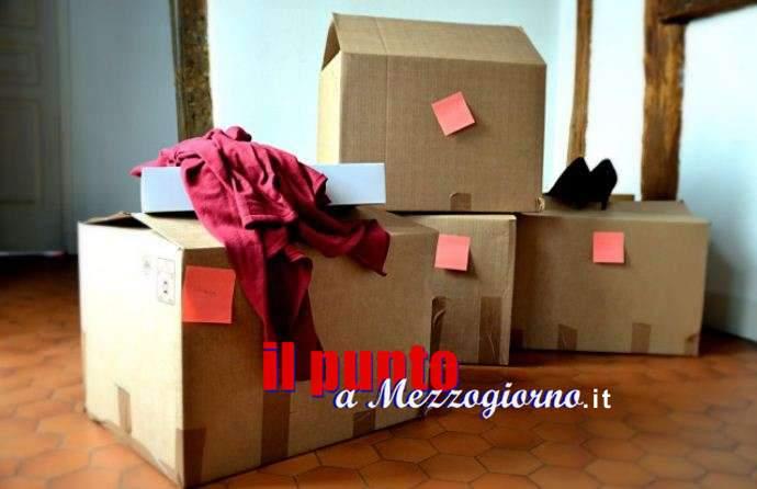 Tanto traslocatore che i mobili se li porta a casa ad Anagni, denunciato 33enne