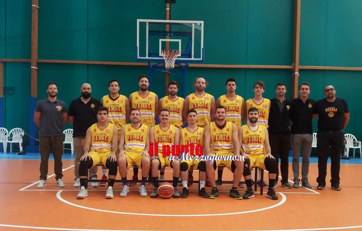 Basket C Silver: Veroli batte Roma Eur , 62-47, e accede alla fase promozione