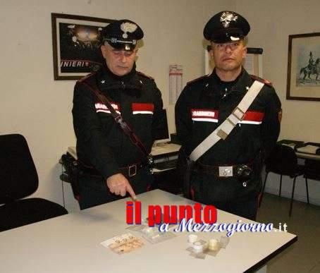 Sorpreso con la cocaina a Ferentino, arrestato 36enne di anagni