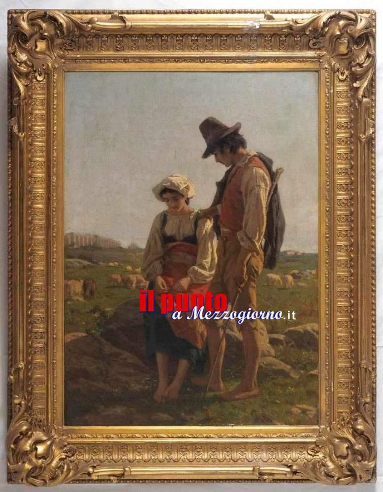 "Grazie a privati, due splendidi dipinti ""ciociari"" tornano nel frusinate"