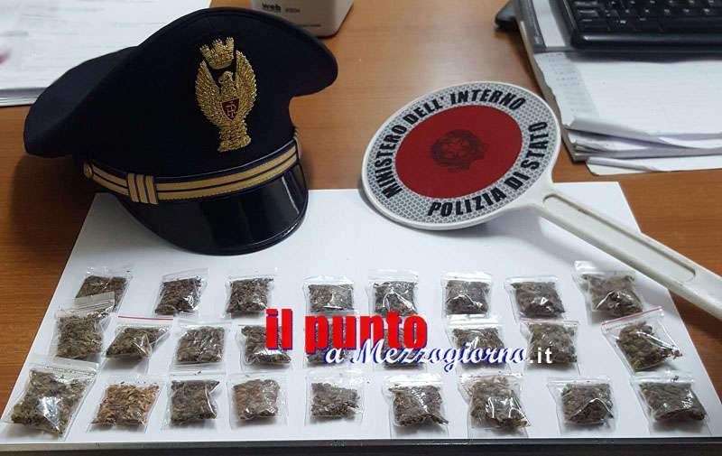 Richiedente asilo ma spacciatore di marijuana, 22enne denunciato a Roccasecca