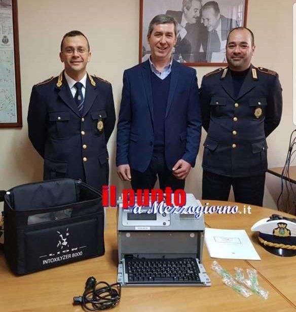 La polizia locale di Alatri si dota di un etilometro