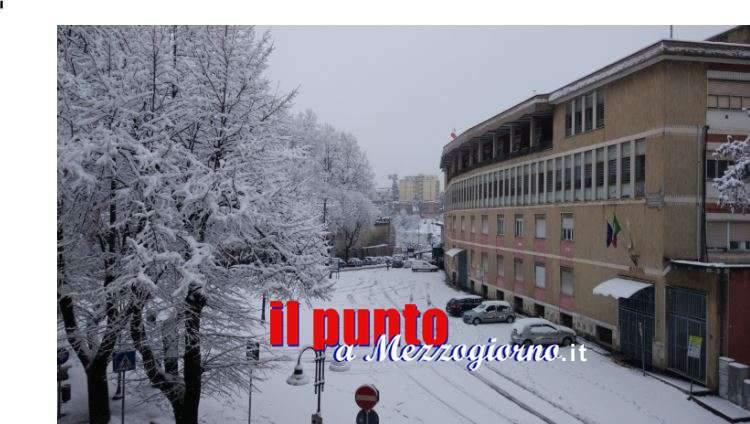 Grande freddo, il sindaco di Frosinone chiede collaborazione alla cittadinanza