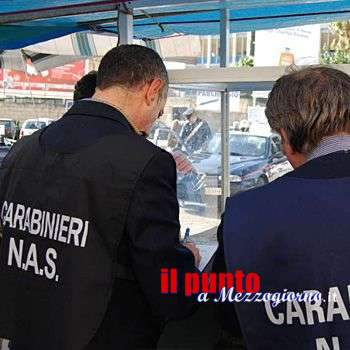 Cibi venduti irregolarmente a Terracina, sequestri Nas in bar e supermercato