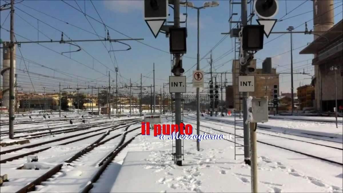 Grande Freddo: Traffico ferroviario ancora fortemente rallentato nel nodo di Roma