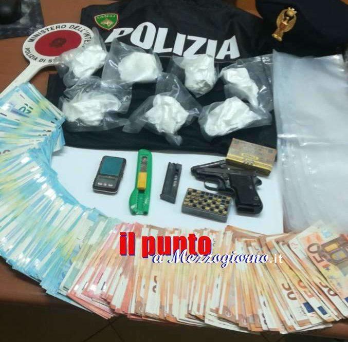 Tradito dalla chiave, 30enne di Cassino conservava in soffitta 400 grammi di cocaina