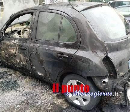 Due auto distrutte da incendio a Frosinone, si indaga per dolo