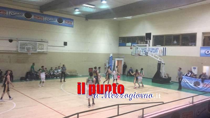Basket Veroli espugna il parquet di Gaeta, 68-65