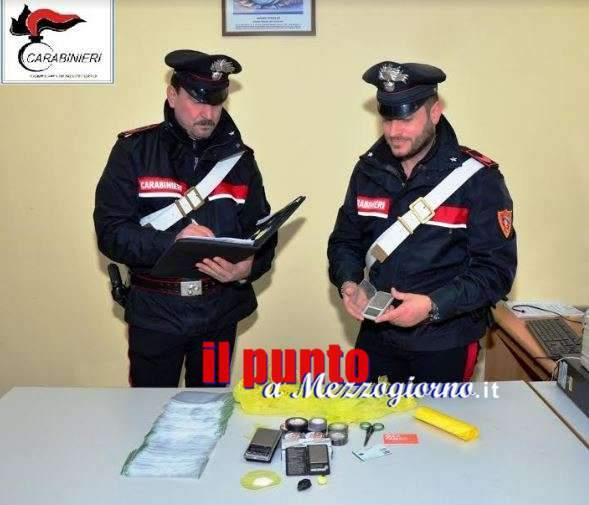 Droga in cassaforte a Pontecorvo, arrestato 45enne