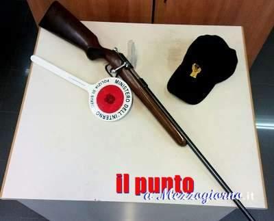 """Armi, la Polizia di Frosinone """"sequestra"""" una carabina"""
