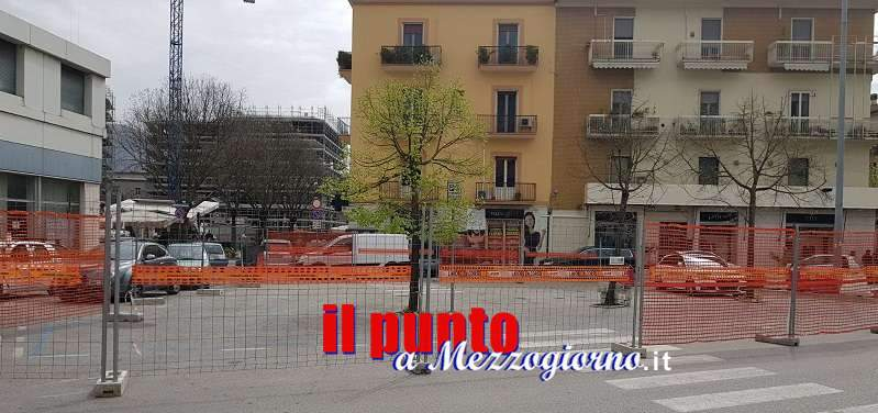 Ripresi i lavori in piazza XV febbraio, un monumento ricorderà i soldati polacchi