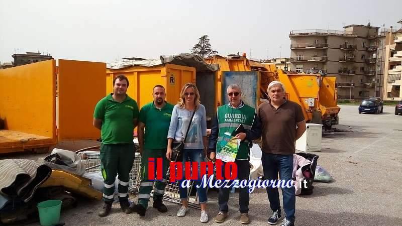 Domenica 11 nuova giornata ecologica 'Rifiutiamo' in campo Miranda