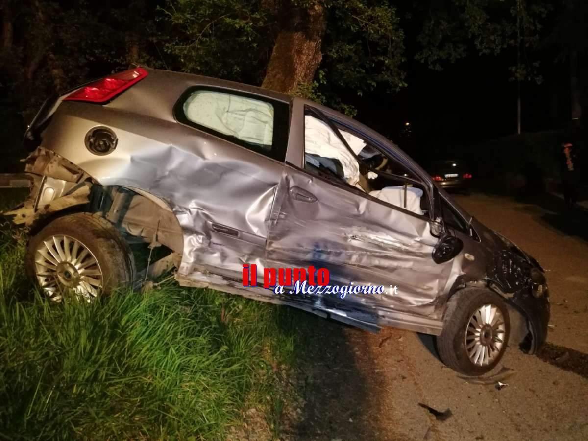 Incidente stradale a Cassino, si aggravano condizioni del 29enne: interviene eliambulanza