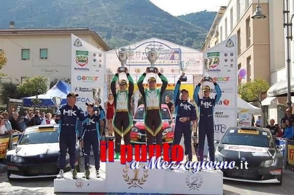 Cassino, 8° Rally Internazionale Lirenas 2018: la coppia Rossetti-Mori fa il bis su Skoda Fabia R5