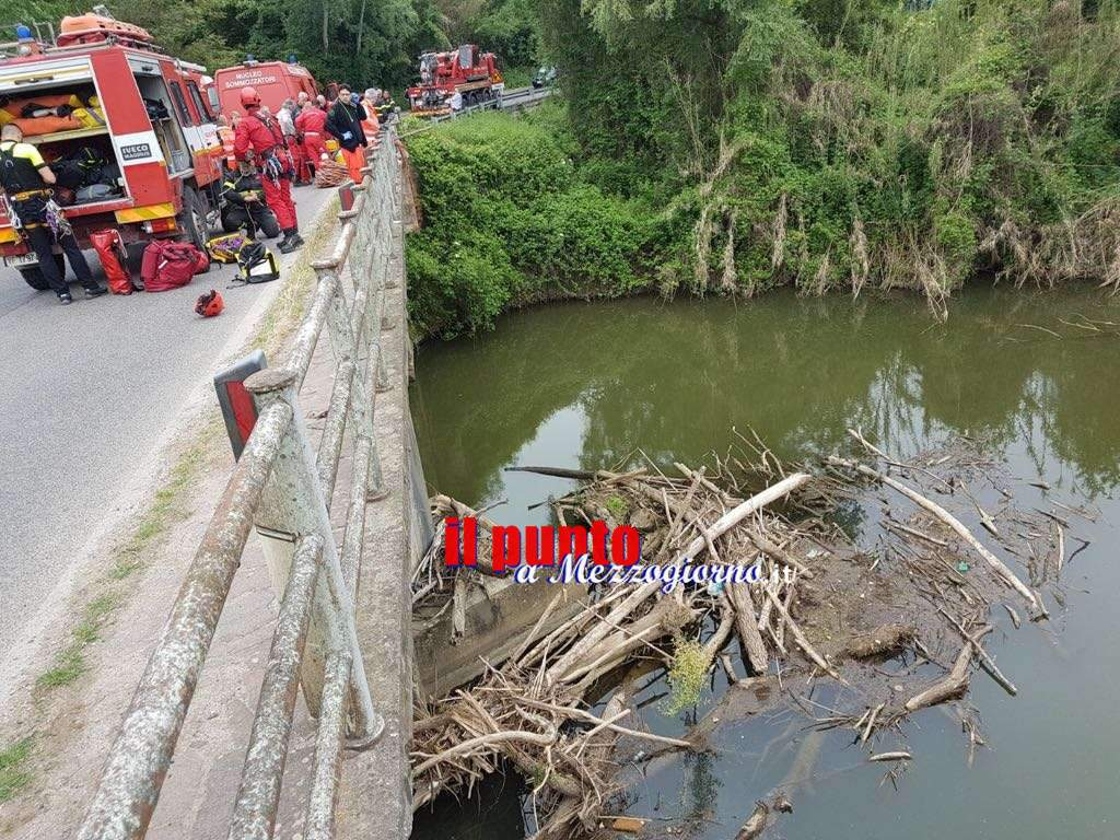Auto nel fiume Sacco, le vittime sono due coniugi di Ceprano