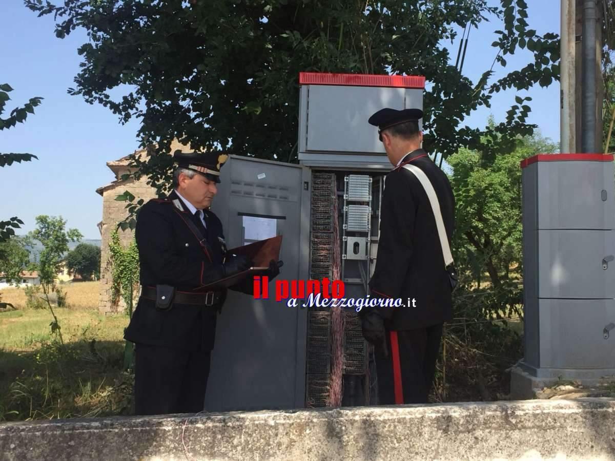 Pontecorvo, rubava telefonate per 7mila euro al mese: arrestato 59enne