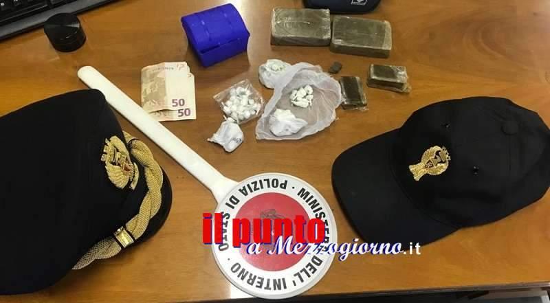La polizia cerca e trova nuove piazze dello spaccio a Frosinone, due arresti
