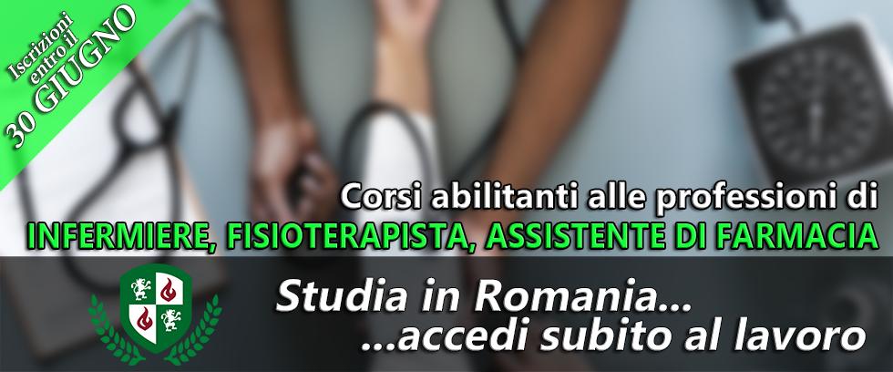 Diventa infermiere, fisioterapista o assistente farmacia in Romania e accedi subito al mondo del lavoro