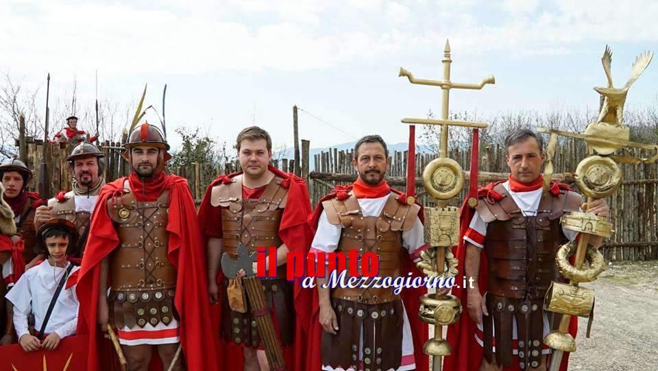 La Legio I Alatrensis al Circo Massimo per i Natali di Roma