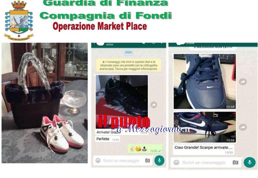 On line capi di abbigliamento contraffatti, denunciato il rivenditore e Finanzieri a caccia dei clienti