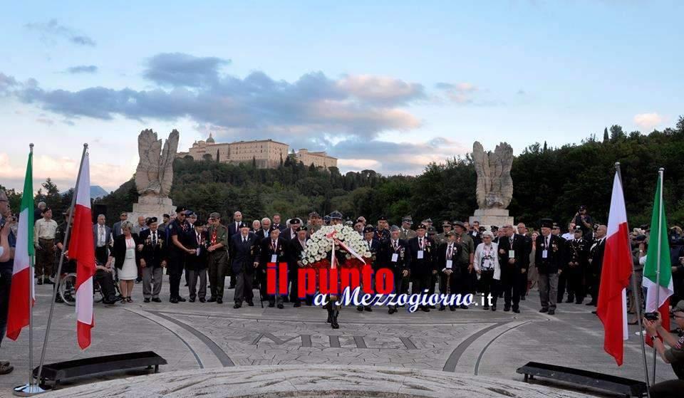 74° Anniversario della Battaglia di Montecassino, cerimonia solenne al Cimitero Militare polacco