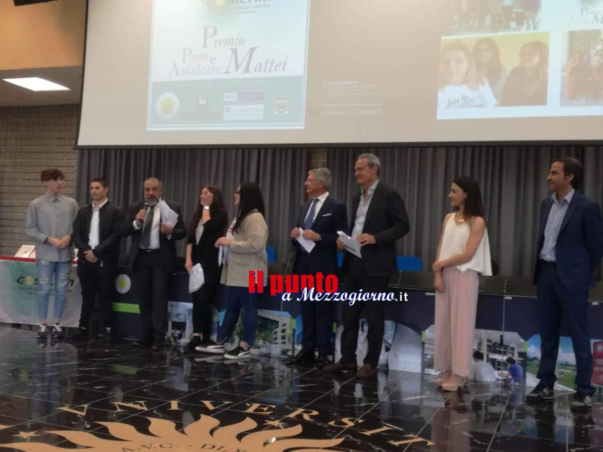 """Scuola e innovazione nel """"Premio Pino e Amilcare Mattei"""" indetto dal Cosilam"""