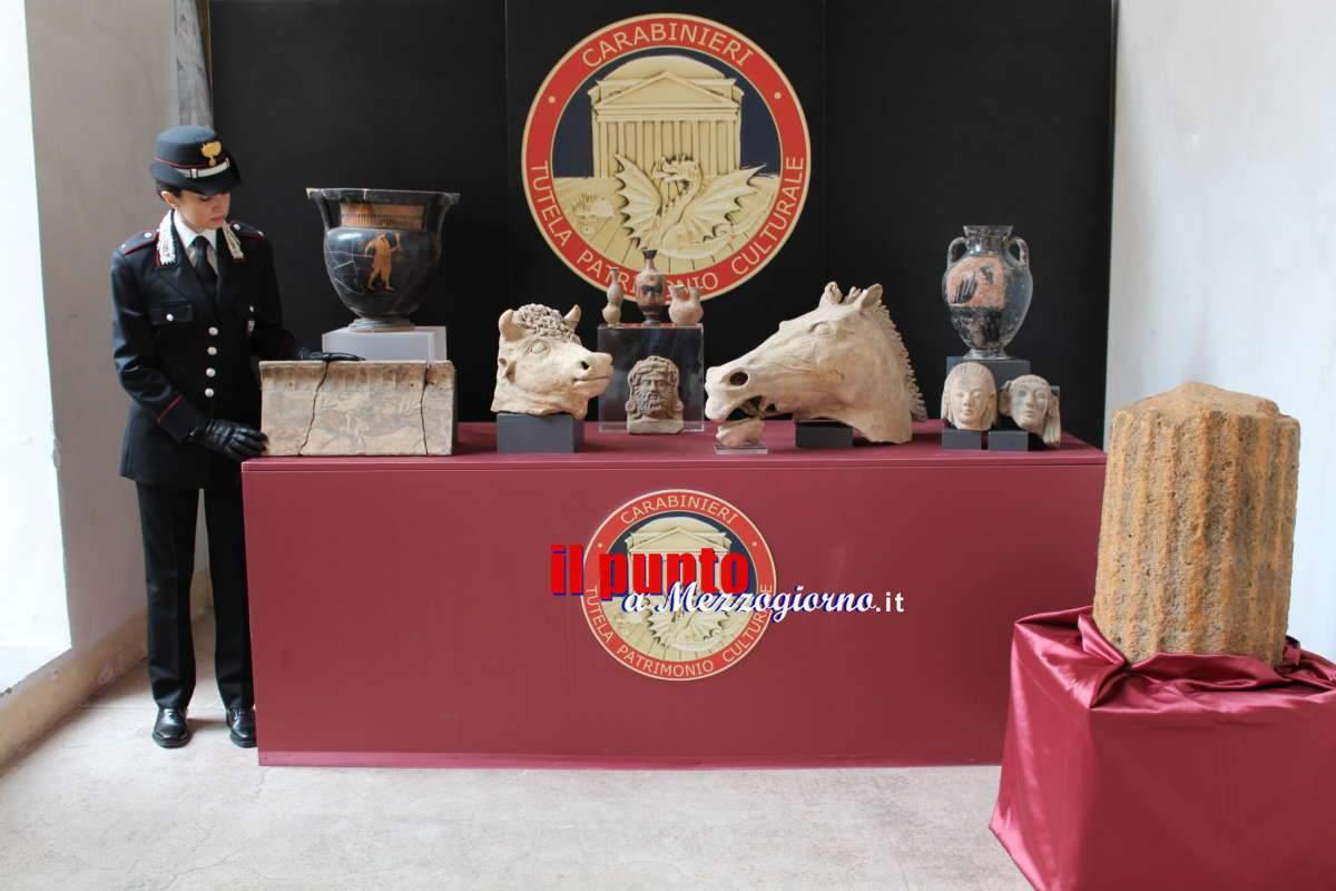 VIDEO – Musei personali con reperti archeologici trafugati: denunce a Roma e Velletri