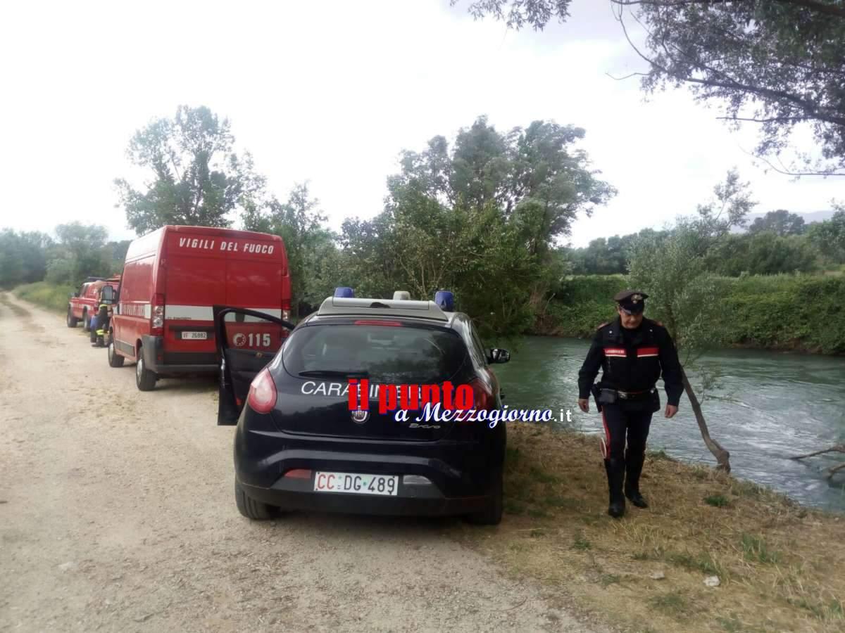 Cassino – Si getta nel fiume e ferisce i soccorritori, arrestato 29enne