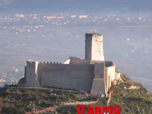 """La Rocca Janula è fruibile, ma solo in parte. Chiusa l'area """"all'ombra"""" del maschio"""