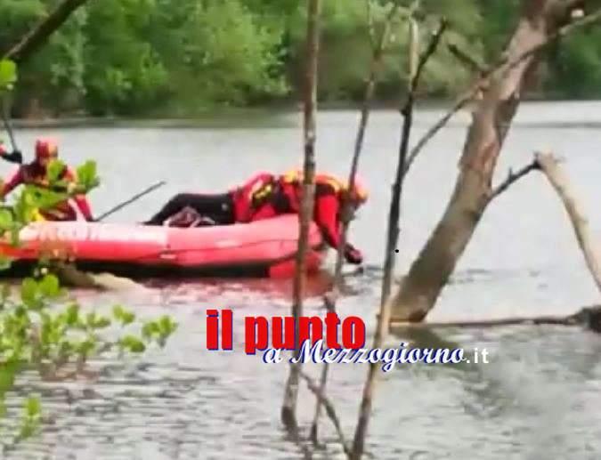 Ceprano, corpo recuperato nel fiume Sacco: operazioni rese complesse dalle avverse condizioni meteo