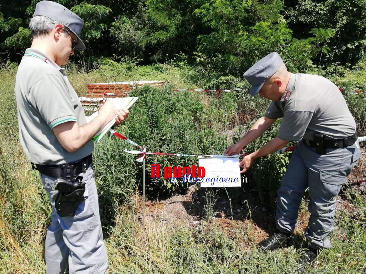 Campi fertilizzati con le immondizie tra Pontecorvo e Cassino, terreni sequestrati e 9 indagati