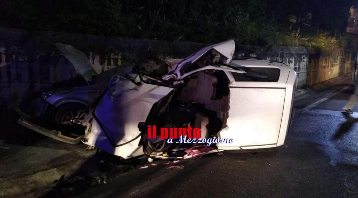 Incidente stradale sulla Cassino-Sora a Broccostella, tre feriti di cui uno in gravi condizioni