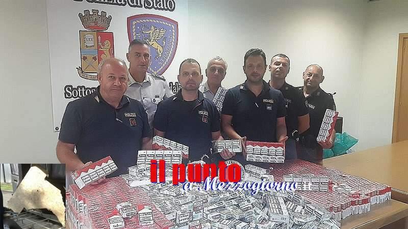 Contrabbandieri di sigarette arrestati sull'autostrada a Cassino