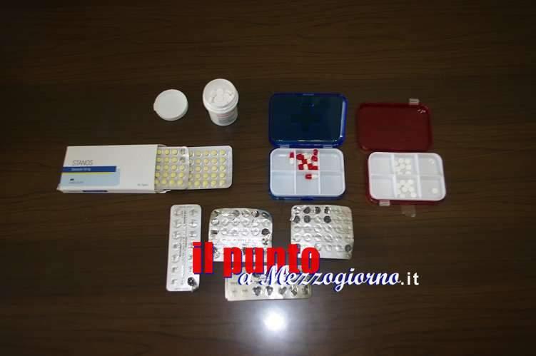 Estorce soldi ad un giovane di Alatri e conserva in casa piccola farmacia del doping, arrestato 24enne