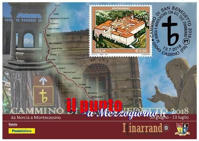 """Il """"Cammino di San Benedetto"""" si concluderà domani a Montecassino"""