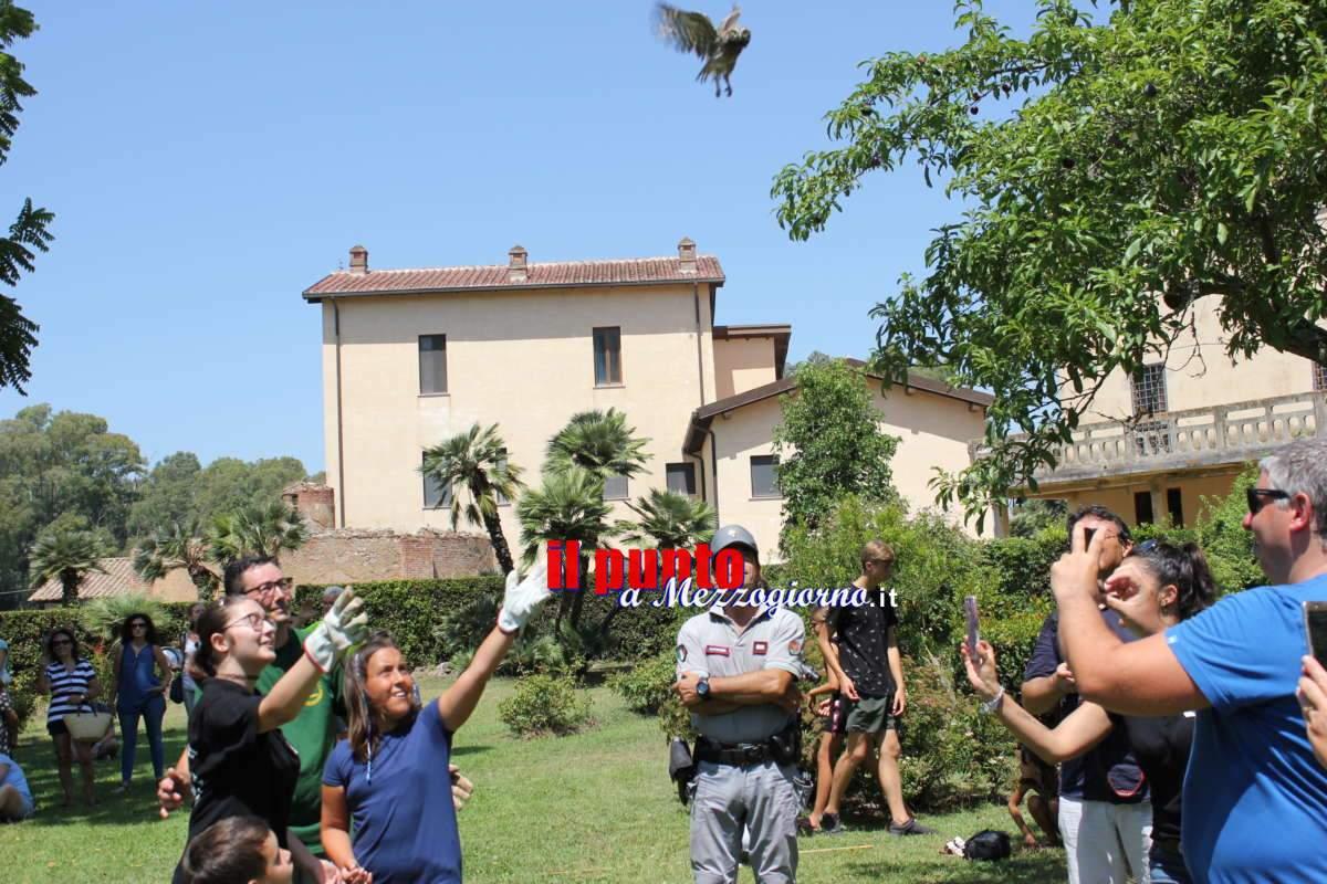 Domenica torneranno in libertà gli animali selvatici curati nel centro di Biodiversità di Fogliano