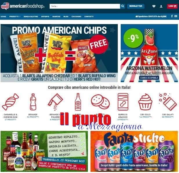 Boom nel settore cibo americano: nasce Americanfoodshop.it