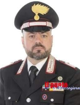 Il luogotenente De Somma è il nuovo comandante della stazione carabinieri di Fiuggi