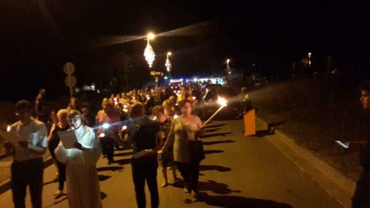 Cassino, Largo Don Bosco: Cresce l'attesa per la tradizionale fiaccolata dedicata alla Madonna di Canneto