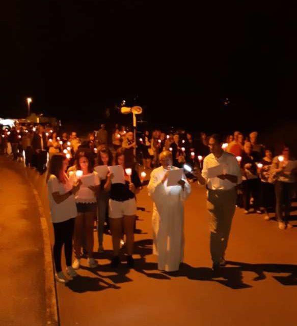 In cammino verso Canneto, l'associazione Largo a Don Bosco accoglie i pellegrini di Piedimonte