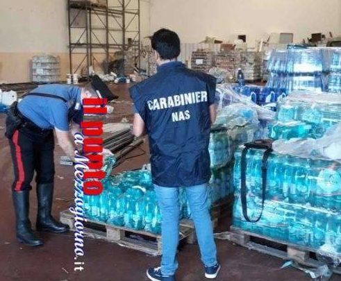 Sequestrato a Frosinone magazzino con alimenti e bevande mal conservate, denunciato 32enne