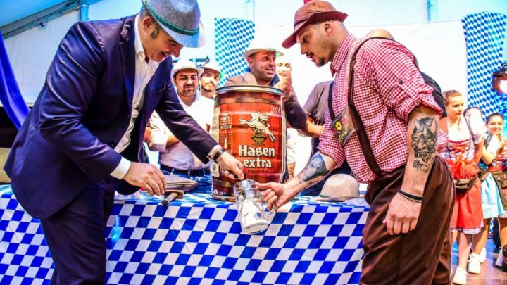 """Birra, musica e buon """"Cibus Fest"""", in 500 al taglio del nastro (foto)"""